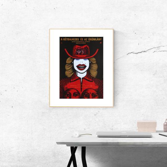A kétbalkezes és az örömlány filmplakát