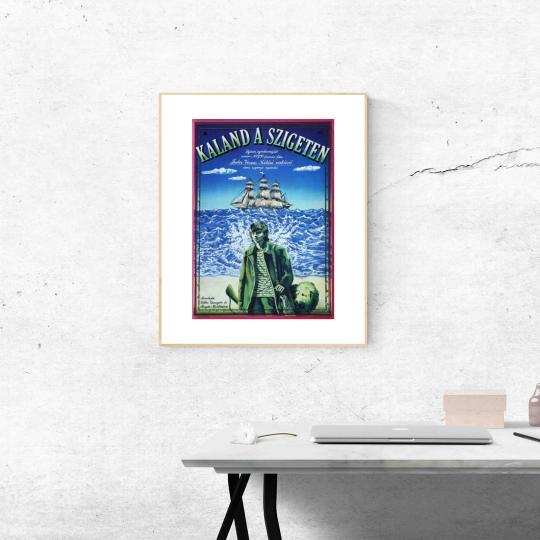 Kaland a szigeten filmplakát