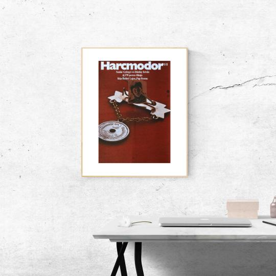 Harcmodor filmplakát