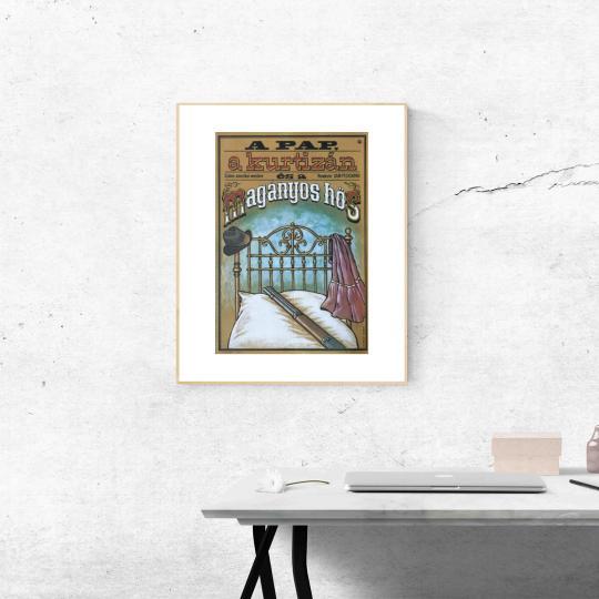 A pap, a kurtizán és a magányos hős  filmplakát
