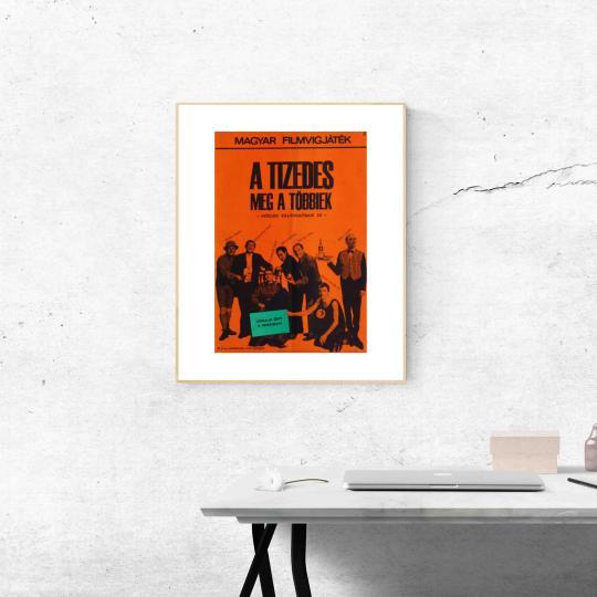 A tizedes meg a többiek filmplakát