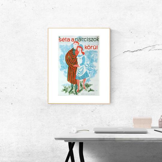 Séta a nárciszok körül filmplakát