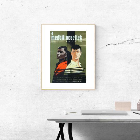 A megbilincseltek  filmplakát