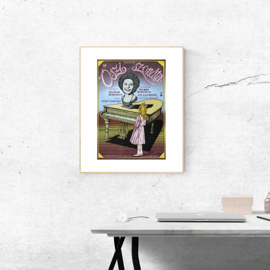 Őszi szonáta  filmplakát