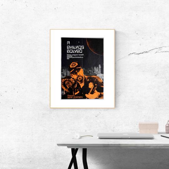 A Gyilkos bolygó  filmplakát