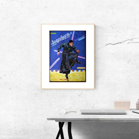 Fogadjunk - (Táncoslábú tiszteletes)  filmplakát