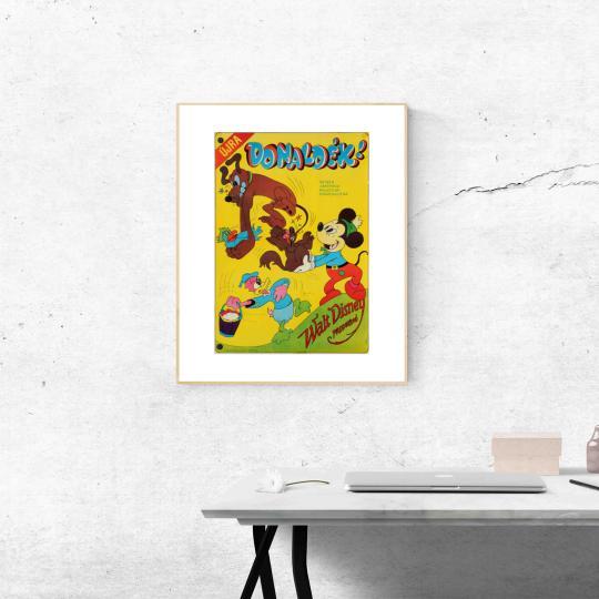 Újra Donaldék (rajzfilm összeállítás) filmplakát