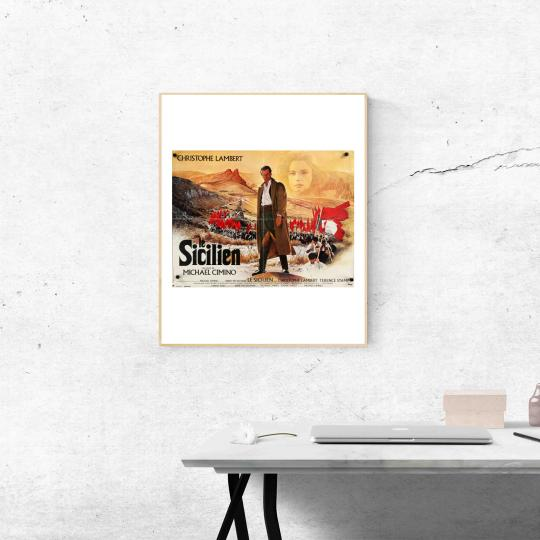 A sziciliai filmplakát