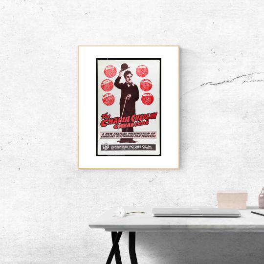 Charlie Caplin /cavalcade/ filmplakát