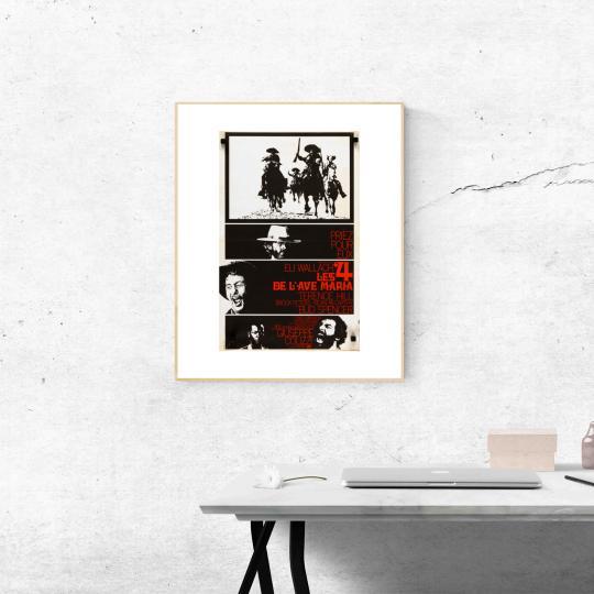 Bosszú El Pasóban filmplakát