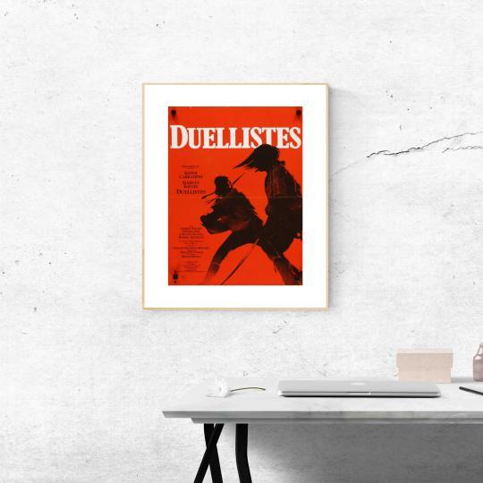 Párbajhősök filmplakát