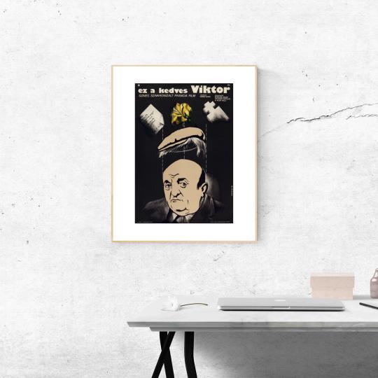 Ez a kedves Viktor filmplakát