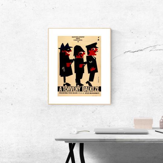 A törvény balkeze filmplakát