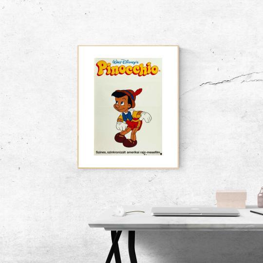 Pinochio filmplakát