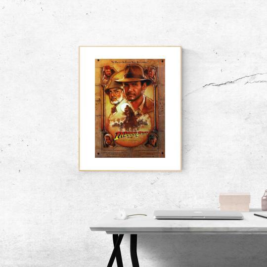 Indiana Jones és az utolsó kereszteslovag filmplakát