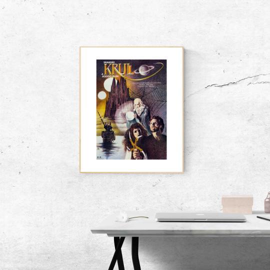 Támadás a Krull bolygó ellen filmplakát