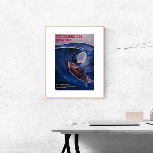 Poszeidon katasztrófa filmplakát