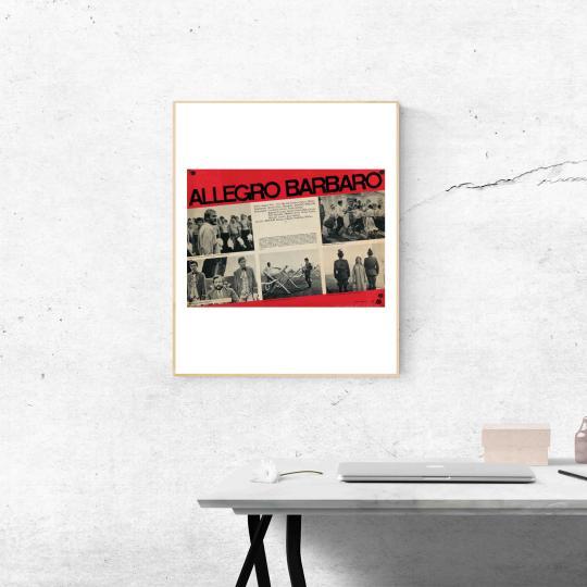 Allegro Barbaro  filmplakát