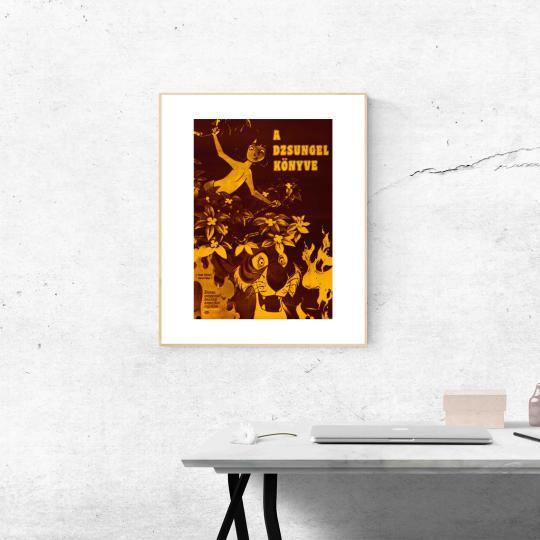 A dzsungel könyve filmplakát