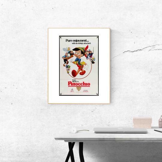 Pinokkió filmplakát