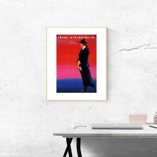 Távol Afrikától movie poster