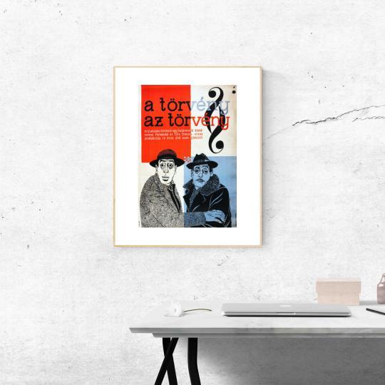 A törvény az törvény  filmplakát
