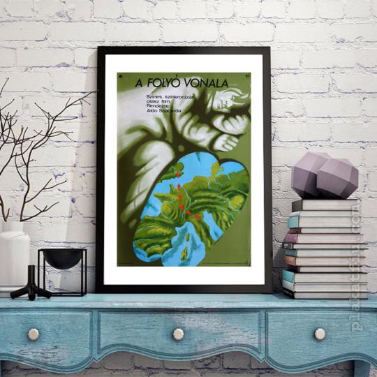A folyó vonala filmplakát