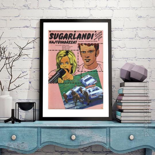 Sugarlandi hajtóvadászat filmplakát