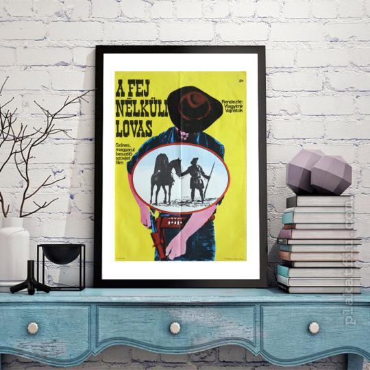 A fej nélküli lovas filmplakát