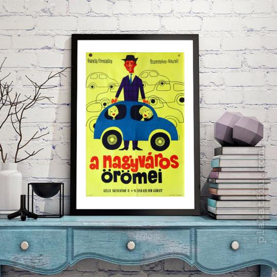 A nagyváros örömei  filmplakát