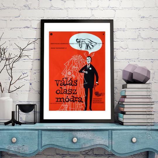 Válás olasz módra  filmplakát