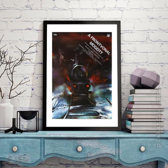 A frontvonal mögött filmplakát