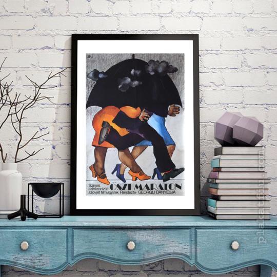 Őszi maraton  filmplakát