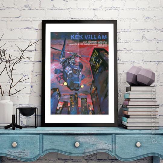 Kék villám filmplakát