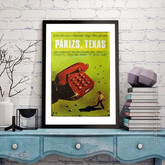 Párizs,Texas filmplakát