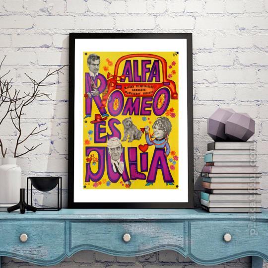 Alfa Romeó és Júlia filmplakát