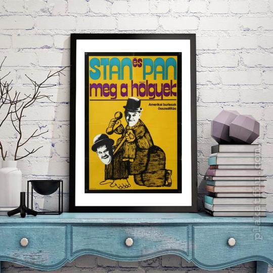 Stan és Pan meg a hölgyek filmplakát