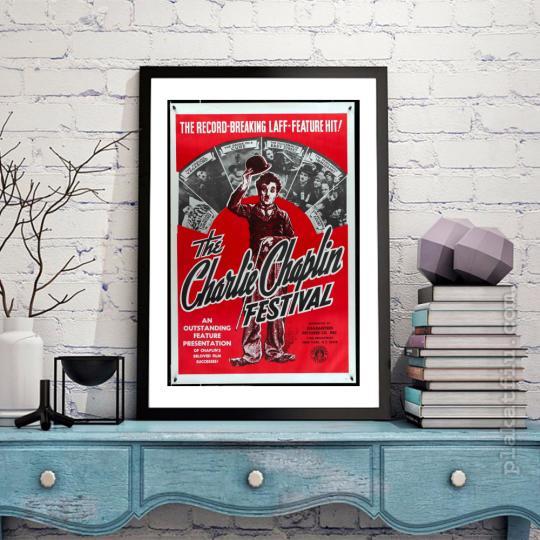 Charlie Caplin fesztivál filmplakát