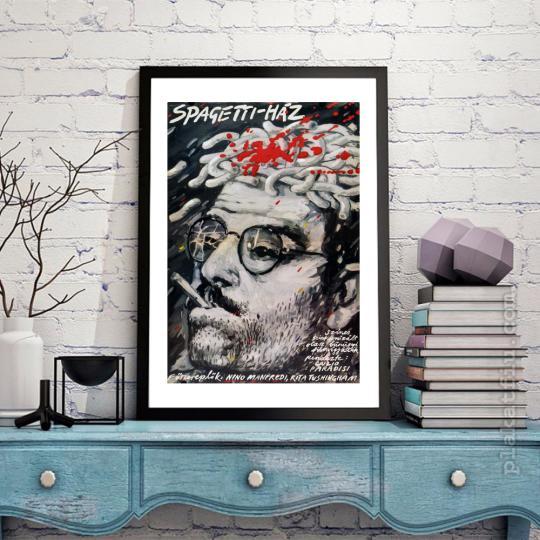 Spagetti-ház filmplakát