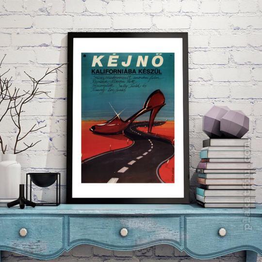 Kéjnő Kaliforniába készül filmplakát