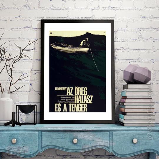 Az öreg halász és a tenger filmplakát