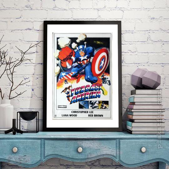 Amerika Kapitány filmplakát