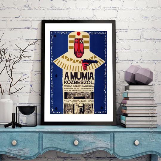 A múmia közbeszól filmplakát