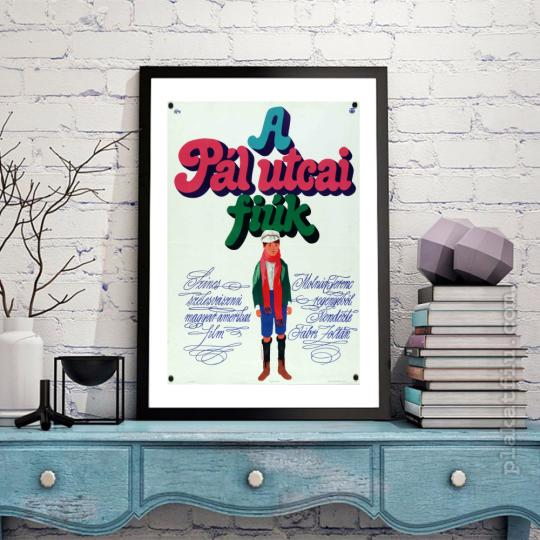 A Pál utcai fiúk filmplakát
