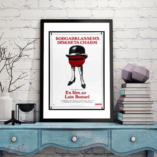 A burzsoázia diszkrét bája filmplakát