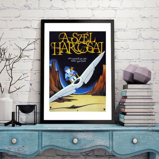 Nauszika-A szél harcosai filmplakát