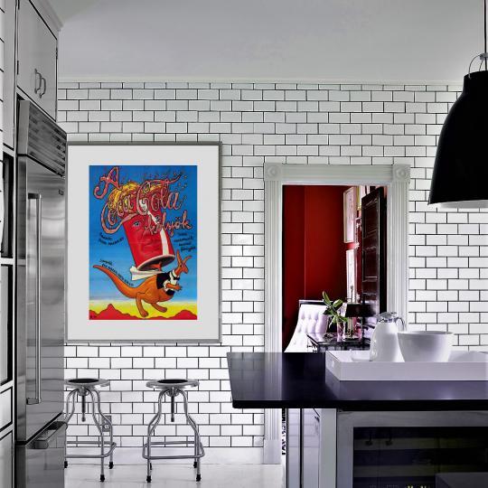 A Coca-Cola kölyök filmplakát