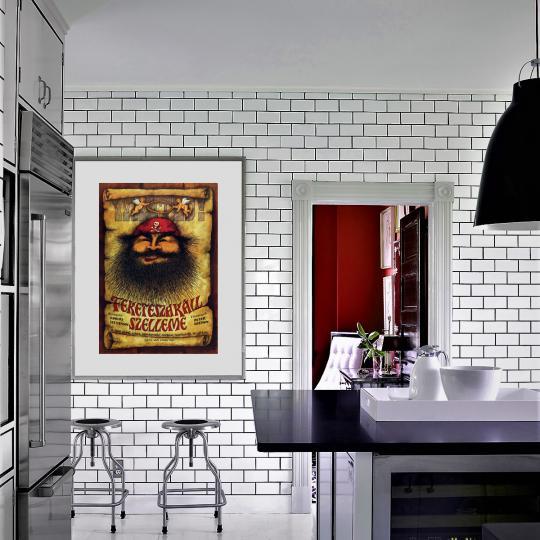 Feketeszakál szelleme filmplakát
