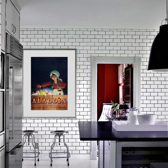 Aladdin és a csodalámpa filmplakát