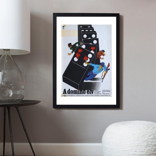 A dominó elv filmplakát